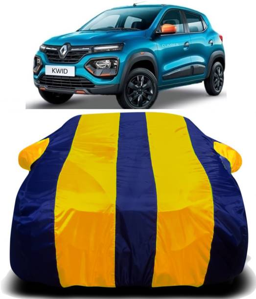 SWARISH Car Cover For Renault Kwid (With Mirror Pockets)