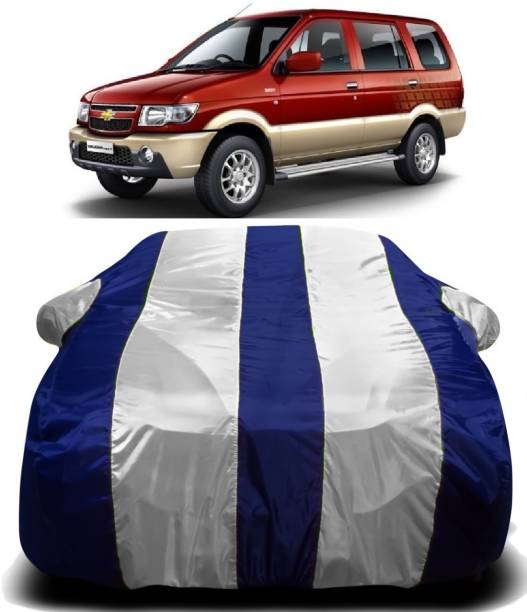 SWARISH Car Cover For Chevrolet Tavera (With Mirror Pockets)