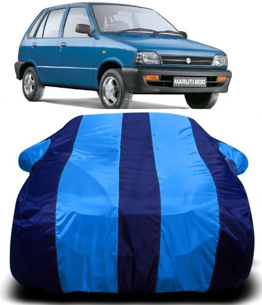S SHINEMAX Car Cover For Maruti Suzuki 800 (With Mirror Pockets)