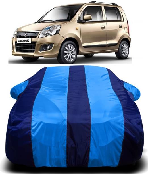 SWARISH Car Cover For Maruti Suzuki WagonR (With Mirror Pockets)