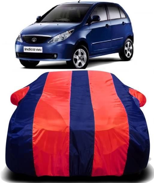 S Shine Max Car Cover For Tata Indica Vista (With Mirror Pockets)