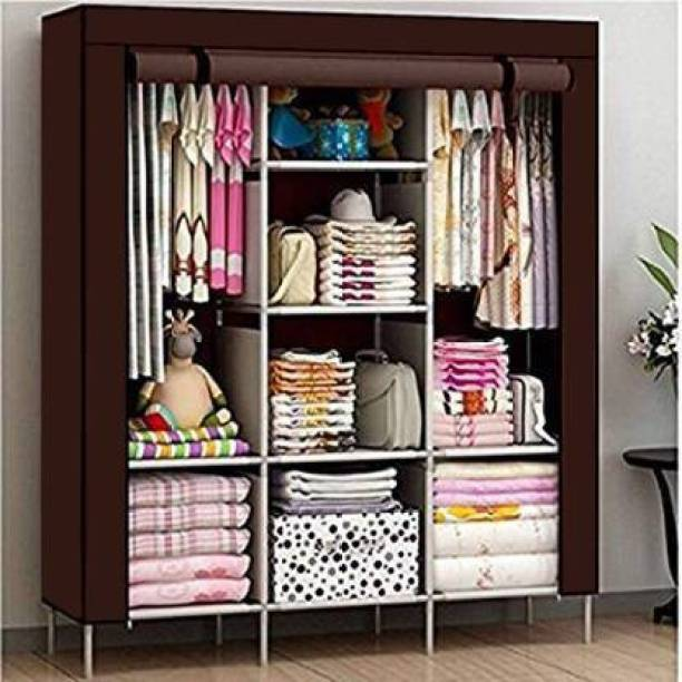 vipash 88130 Carbon Steel Collapsible Wardrobe