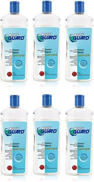 Aryanveda Herbals Bodyguard  Alcohol Based Disinfectant Gel | Kills 99.99% Germs Hand Sanitizer Bottle