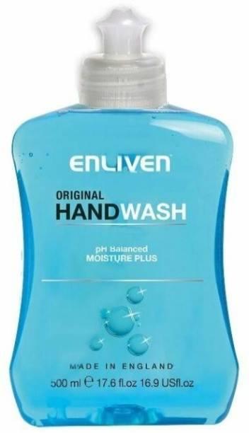 Enliven Anti Bacterial Original Hand Wash 500mk Hand Wash Bottle