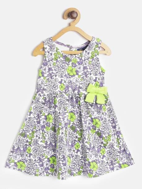 Yk Indi Girls Mini/Short Casual Dress
