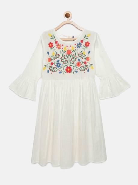 Yk Girls Mini/Short Casual Dress