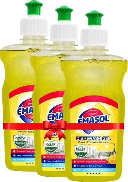 EMAMI EMASOL EMASOL Dish Was Gel (Pack of 3) Kitchen Cleaner