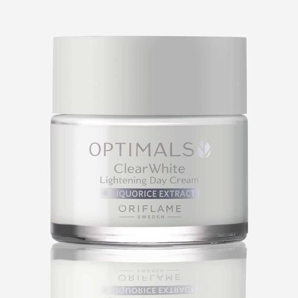 Oriflame optimals clear white lightening day cream