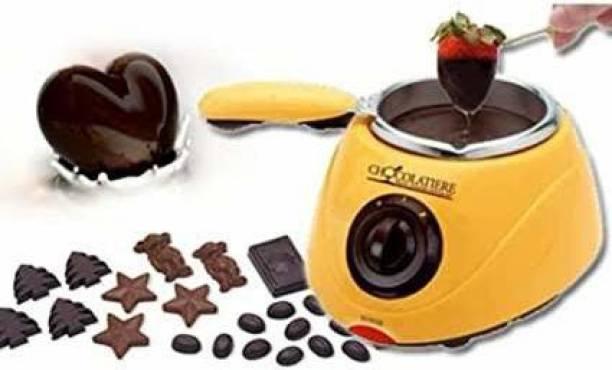 SAJAG Electric Chocolate Maker Melting Maker Round Electric Pan Round Electric Pan