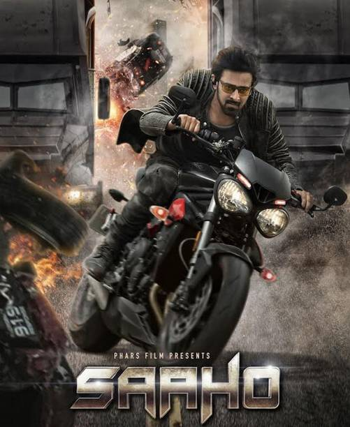Saaho (2019) in HD print it's burn DATA DVD play only in computer or laptop not in DVD or CD player it's not original without poster