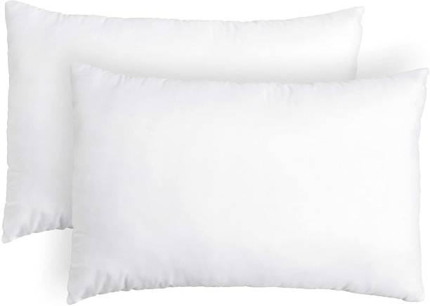OneLink Comfort Cotton Solid Sleeping Pillow Pack of 2