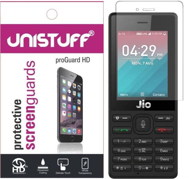 Unistuff Impossible Screen Guard for Jio Phone 1
