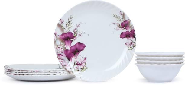 Golden Fish Plate, Bowl Serving Set