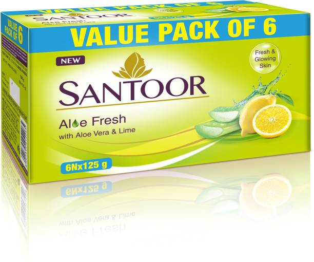 santoor Aloe Fresh Soap
