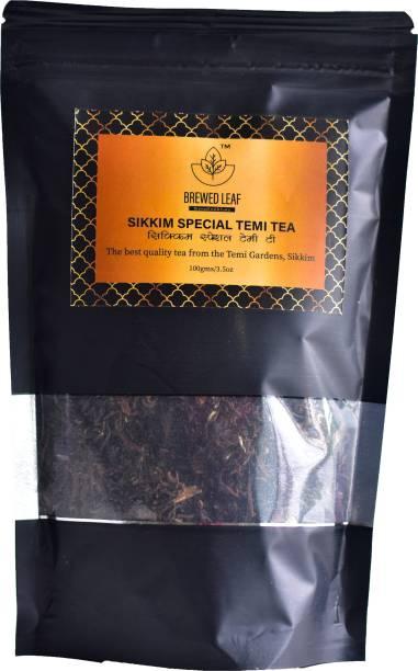 brewed leaf SIKKIM TEMI TEA Herbal Tea Pouch