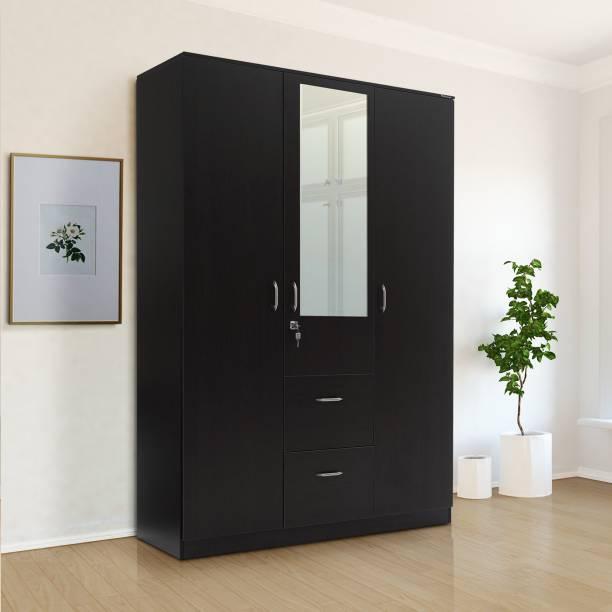 Nilkamal Mozart Engineered Wood 3 Door Wardrobe
