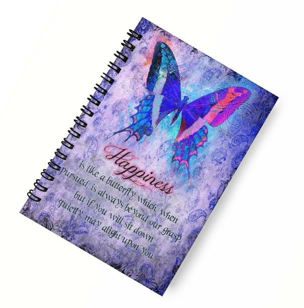 DI-KRAFT Wiro binding diary A5 Diary Unruled 160 Pages