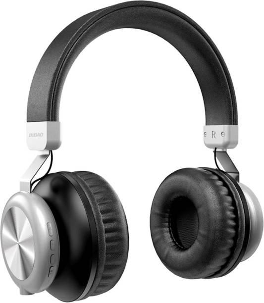 DUDAO All in One Stereo Bass FM Radio Wireless Bluetooth Headphone Bluetooth Headset