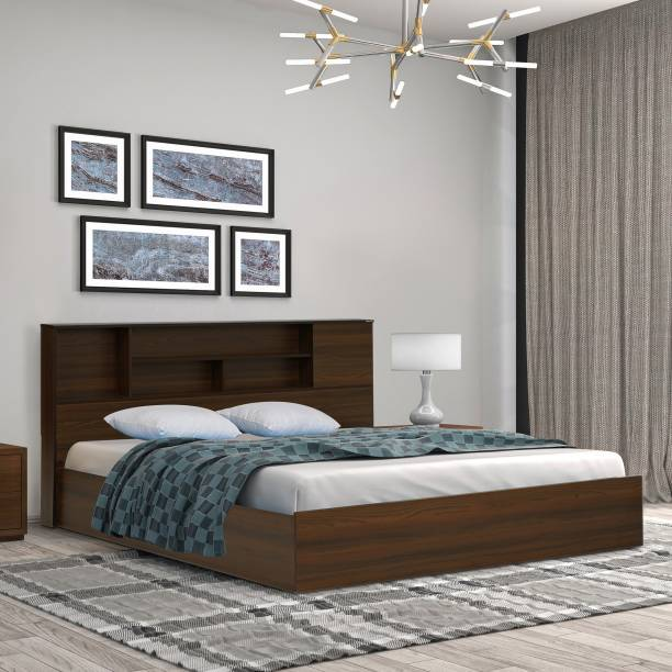 Nilkamal MOZART Engineered Wood Queen Box Bed