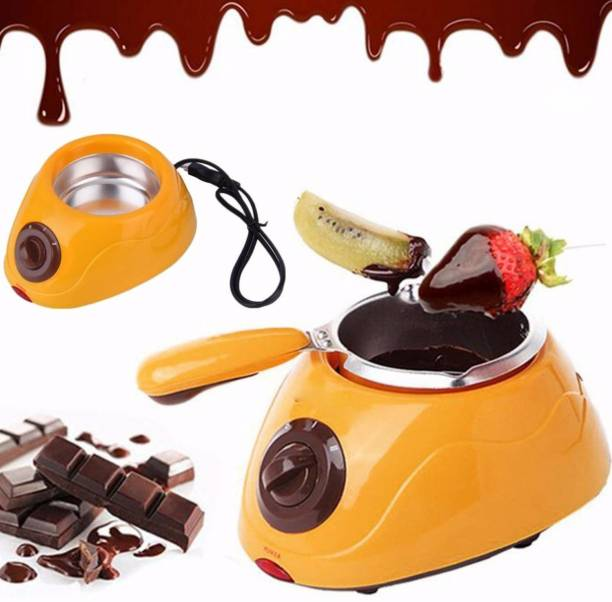 Empire Mart chocolete Maker Electric Chocolate Maker Round Electric Pan