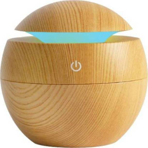 Shakti Enterprise Portable Mini Wood Finish Aroma Atomization Humidifier For Home Office and Car Portable Car Air Purifier Portable Car Air Purifier (Brown) Portable Car Air Purifier