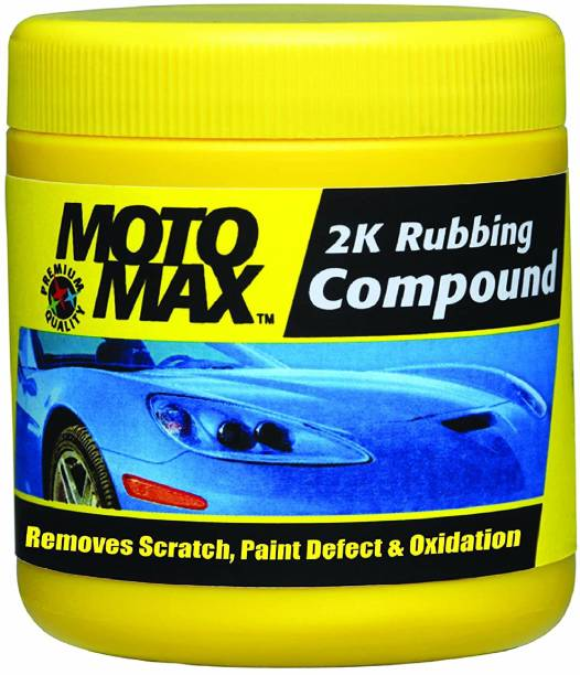 Pidilite Paste Car Polish for Windscreen, Leather, Metal Parts, Chrome Accent, Headlight, Exterior