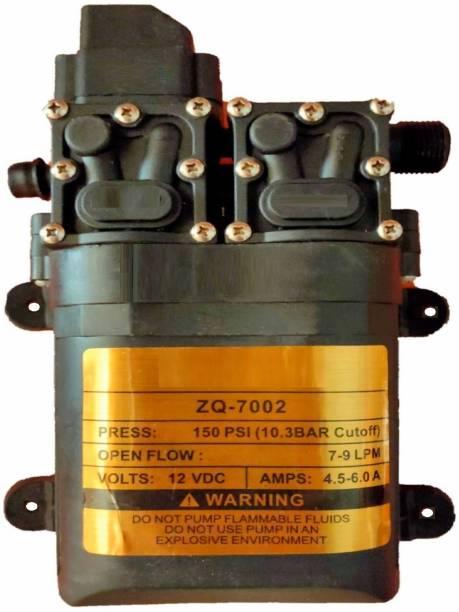 BALRAMA 150 PSI 12 Volt DC Double Motor High-Pressure Vehicle Washing Battery Sprayer Pump Pressure Washer