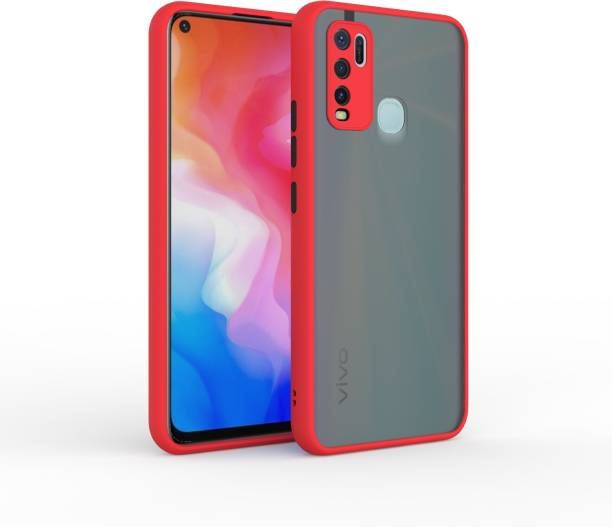 MECase Back Cover for VIVO Y30 Back Case Full Camera Protection Smoke Matte Finish Cover, VIVO Y50