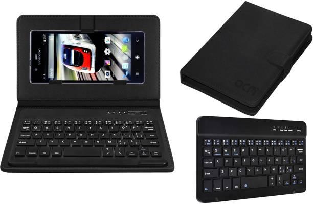ACM Keyboard Case for Videocon Octa Core Z55 Dash