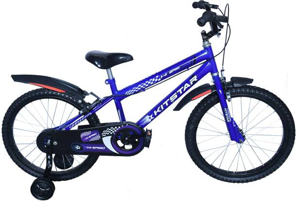 Kitstar HiSpeed Kids Cycle for 5 - 8 Years with Training Wheel 20 T Recreation Cycle