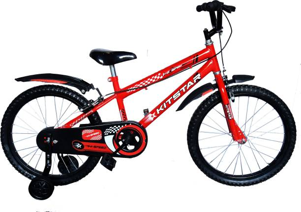 Kitstar HiSpeed Kids Cycle for 5 -8 Years with Training Wheel 20 T Recreation Cycle