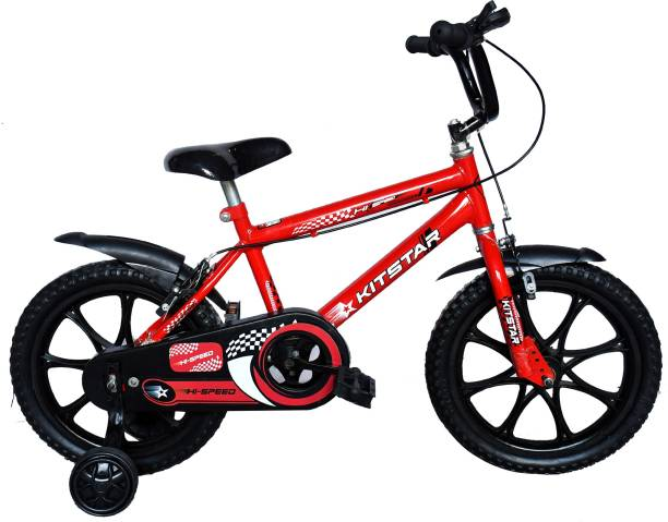 Kitstar Hispeed kids cycle with Training wheel 5-8 years old 16 T Recreation Cycle