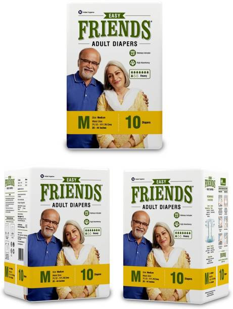 FRIENDS Easy Tape Type Adult Diapers - M
