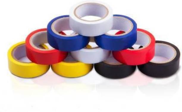 Flipkart SmartBuy PVC Tape PVC Self Adhesive Electrical Insulation Tape (Pack of 10)