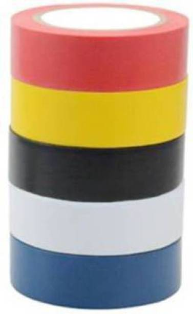 Flipkart SmartBuy PVC Tape PVC Self Adhesive Electrical Insulation Tape (Pack of 5)