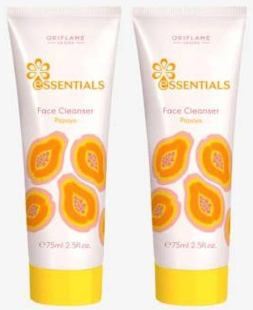 Oriflame Sweden Essentials Papaya Face Clenser Face Wash