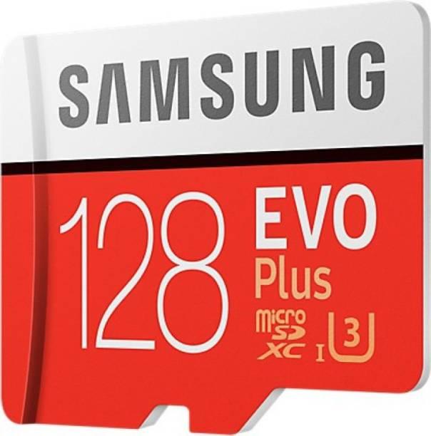 SAMSUNG EVO Plus 128 GB Ultra SDHC Class 10 100 MB/s  Memory Card