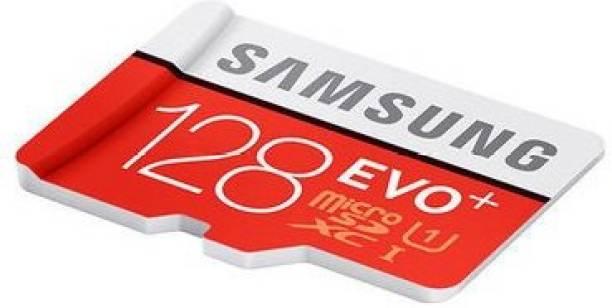 SAMSUNG EVO Plus 128 GB MicroSDXC Class 10 80 MB/s  Memory Card