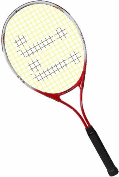 J J JONEX Multicolor Strung Tennis Racquet Multicolor Strung Tennis Racquet