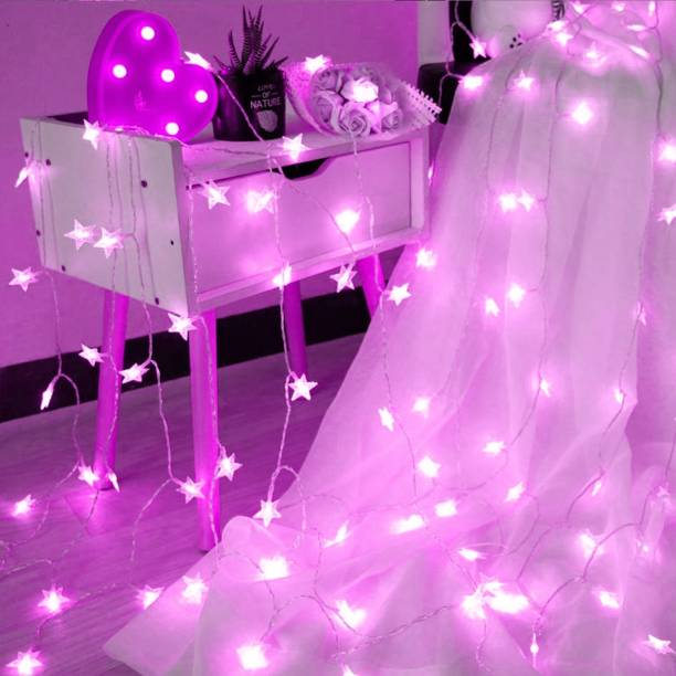 A one creations 314 inch Pink Rice Lights