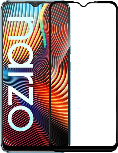 Hupshy Edge To Edge Tempered Glass for Realme Narzo 20, Realme Narzo 20A, Realme C11, Realme C12, Realme C15, Realme C3, Realme 5, Realme 5i, Realme 5s, Oppo A9 2020, Oppo A5 2020, Realme Narzo 10, Realme Narzo 10A, Oppo A31, Realme Narzo 30A, Realme C25, Realme C20, Realme C21