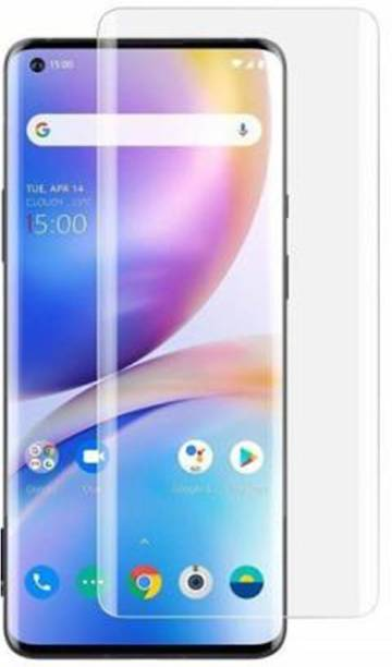 TexoVera Screen Guard for Oppo Reno 4 Pro UV Ray Tempered Glass with edge to edge screen cover, Border Less Glass