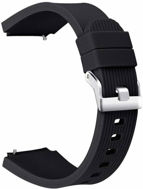 V-TAN Soft Silicone 22mm Linning Strap Compatible for Samsung Galaxy Watch 46mm/Gear S3 Frontier/Classic, Amazfit, Moto 360 Smart Watch Strap