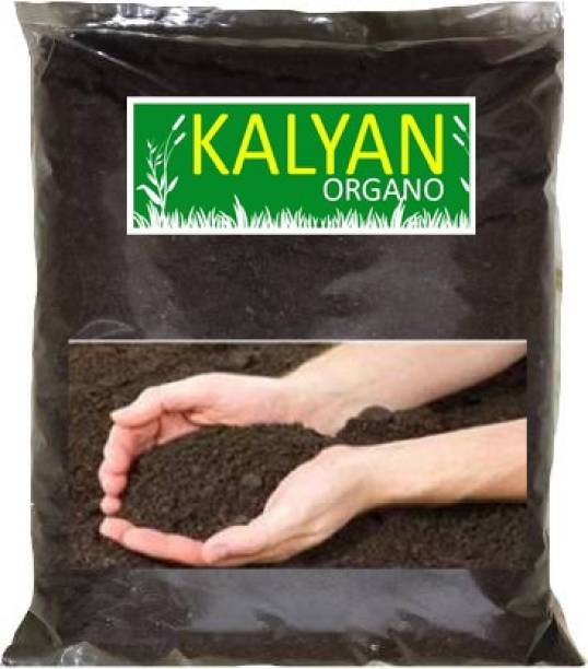 KALYAN ORGANO 1550 gm 100% Natural Enriched Vermicompost - Earthworm Soil Manure Manure, Fertilizer