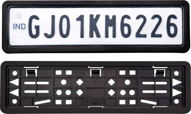 JAY BALAJI Car Number Plate Frame Front and Back Side Car Number Plate