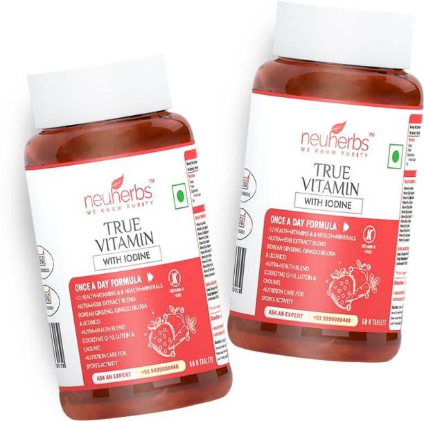 Neuherbs True Vitamins with Minerals for Men and Women