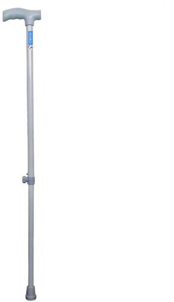 KENKO mobility i-1 WALKING STICK, COLOUR GREY, HEIGHT ADJUSTABLE, CRUTCH HANDLE WALKING STICK FOR MEN AND WOMEN (grey) Walking Stick