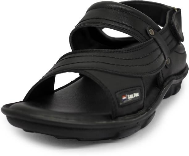 Pro Air Men Black Sandals