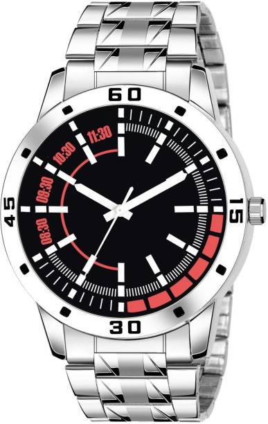 RIXOS 26 NEW STYLISH DIAL-SILVER STAINLESS STEEL STRAP WATCH FOR BOYS Analog Watch  - For Boys