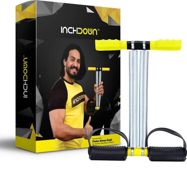 Inchdown Tummy Trimmer Double Spring Ab Exerciser For Men and Women Ab Exerciser